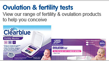 Ovulation & Fertility Tests View our range of fertility & Ouvulation products to help you conceive