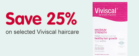 Save 25 percent on selected Viviscal