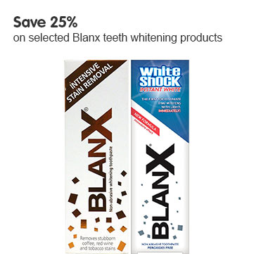 Save 25% on selected Rapid White Teeth Whitening products