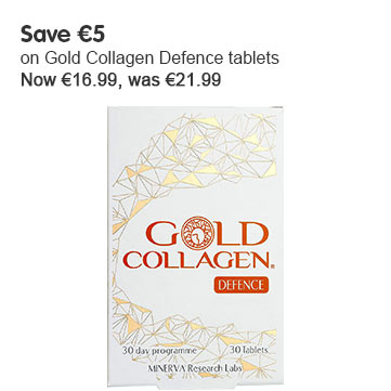 Save 5 on Gold Collagen Defense tablets