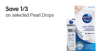 Save third on selected Pearl Drops