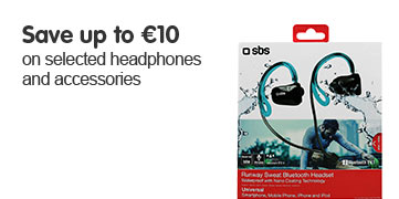 Save up to 10 Euros on selected headphones and speakers