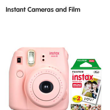 Instant Cameras and FIlm