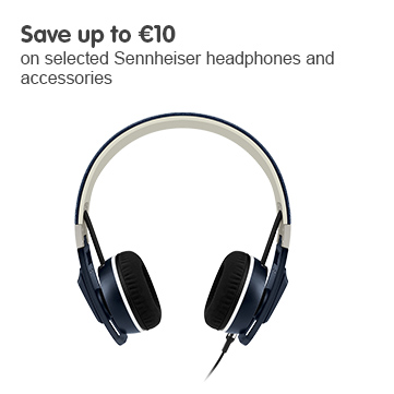 Save up to 10 euros on selected Sennheiser