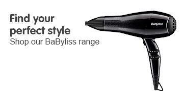 Find your perfect Style - shop our Babyliss Range