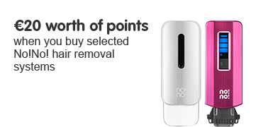 20 Euros worth of points when you buy No!No! hair removal system