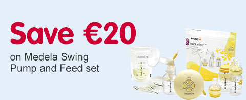 Save 20 Euros on Medela Swing and Pump set