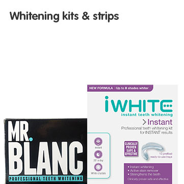 Whitening Kits and Strips