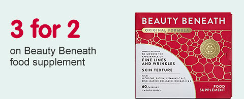 3 for 2 on Beauty Beneath food supplement