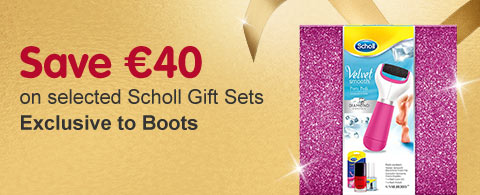 Save €40 on selected Scholl Gift sets