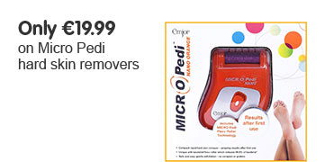 Only €19.99 on Micro Pedi hard skin removers