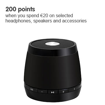 200 points when you spend ?20 on tech accessories