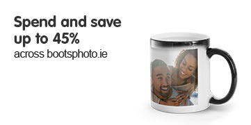 Spend & save up to 45% across bootphoto.ie