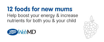 Web MD- 12 foods for new mums
