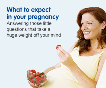 What to expect in your pregnancy