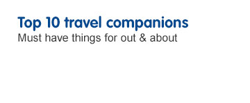 Top 10 Travel Companions