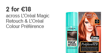 2 for 18 Euros on selected Magic Retouch and Preference